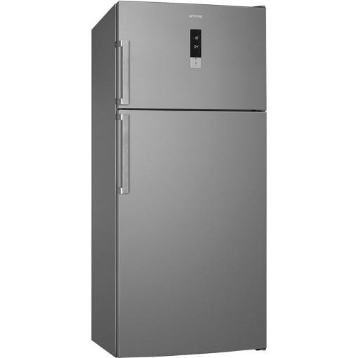 Smeg FD84EN4HX frigorifero con congelatore Libera installazione 575 L E Acciaio inossidabile
