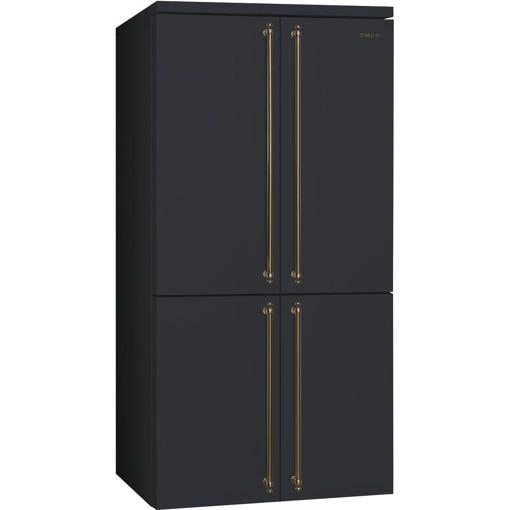 Smeg FQ60CAO5 frigorifero side-by-side Libera installazione 581 L F Nero