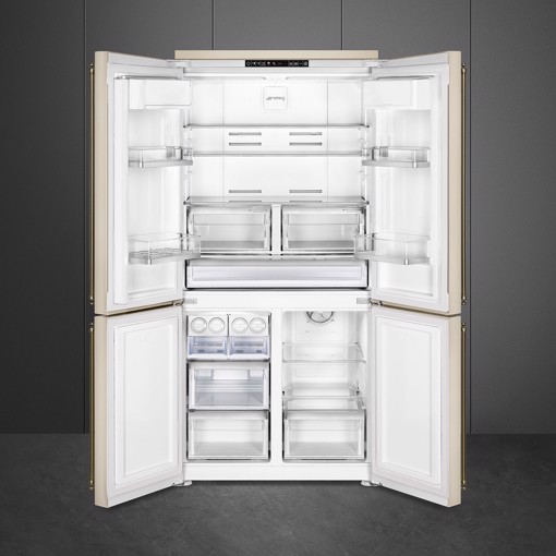 Smeg FQ60CPO5 frigorifero side-by-side Libera installazione 581 L F Crema