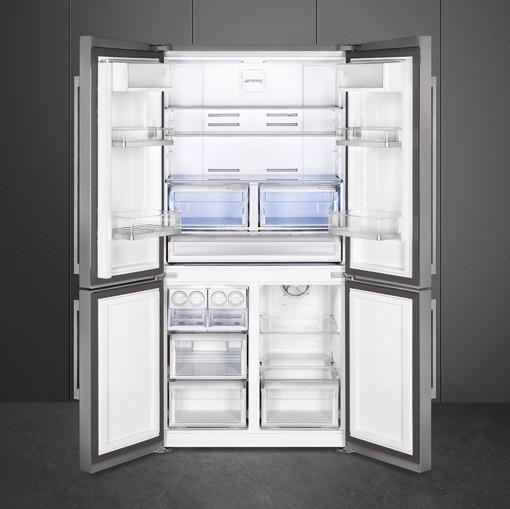 Smeg FQ60XDF frigorifero side-by-side Libera installazione 541 L F