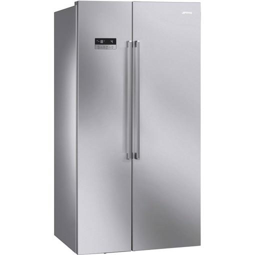 Smeg SBS63XDF frigorifero side-by-side Libera installazione 580 L F Acciaio inossidabile
