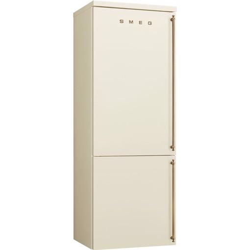 Smeg FA8005LPO5 frigorifero con congelatore Libera installazione 481 L E Crema