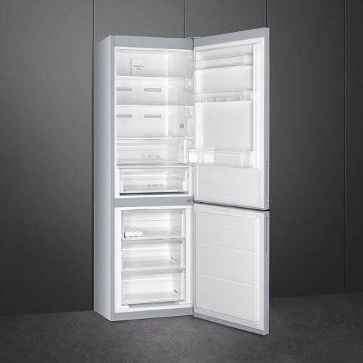 Smeg FC18EN1S frigorifero con congelatore Da incasso 324 L E Argento