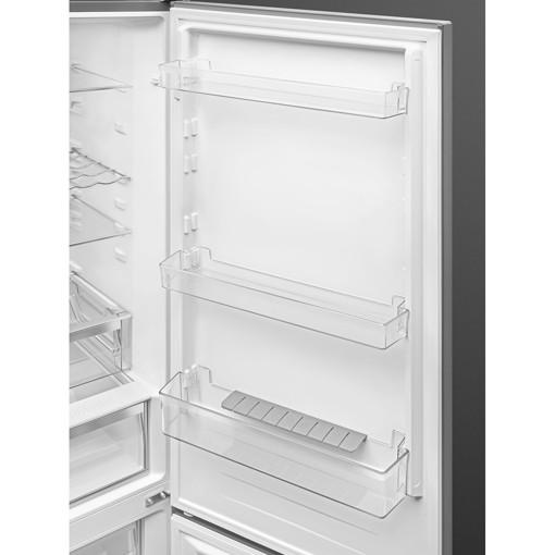Smeg FC18XDNE frigorifero con congelatore Libera installazione 300 L E Acciaio inossidabile