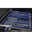 Smeg LVS433STPXIN lavastoviglie Libera installazione 13 coperti D
