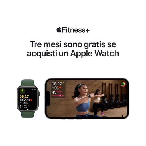 Apple Watch Series 7 GPS + Cellular, 41mm (PRODUCT)RED Cassa in Alluminio con Sport Band (PRODUCT)RED