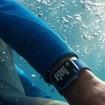 Apple Watch Series 7 GPS, 45mm Cassa in Alluminio Blu con Cinturino Sport Azzurro