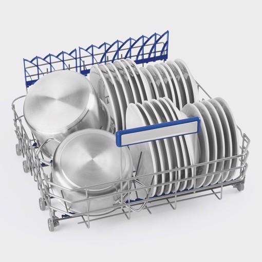 Smeg LVSP345BQX lavastoviglie Libera installazione 14 coperti B
