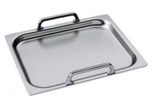 Smeg TPK accessorio e componente per piano cottura Acciaio inossidabile Vassoio da portata classico
