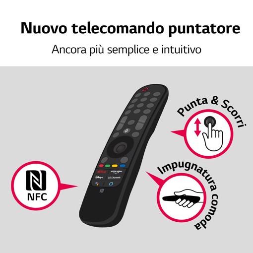 "LG NanoCell 43NANO756PR 109,2 cm (43"") 4K Ultra HD Smart TV Wi-Fi Blu"