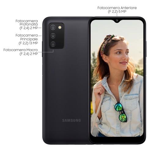 """Samsung Galaxy A03s 5.000mAh Display 6.5"""" HD+ TFT LCD 32GB Black"""