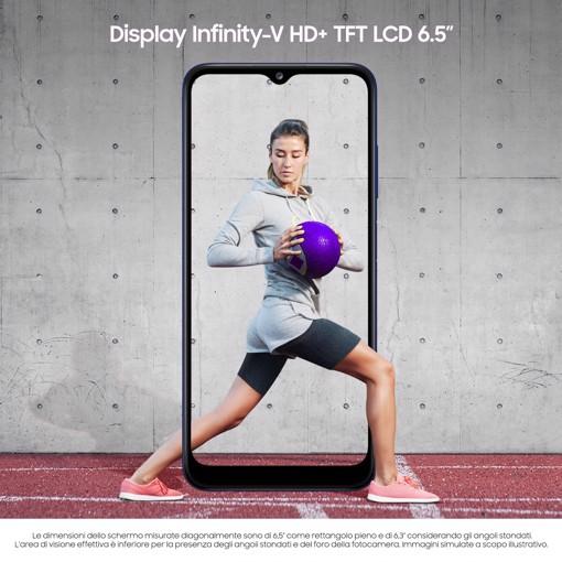 """Samsung Galaxy A03s 5.000mAh Display 6.5"""" HD+ TFT LCD 32GB Blue"""